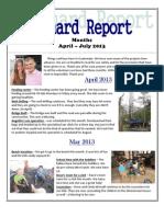 Reichard Report April-july 2013