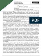 TEXTO 1_MENSAGEM INICIAL_O PAPEL DO PROFESSOR_1 PÁGINA
