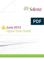 Solesta Digital Style Guide