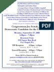Reception for Joe Sestak