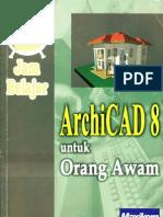 ArchiCad 8 Untuk Orang Awam