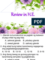 Review in H.e.