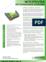 WTCP PWM Temperature Controller Brochure