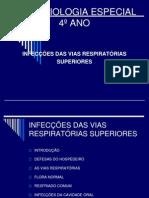 01. INFECÇÕES DAS VIAS ÁEREAS SUPERIORES