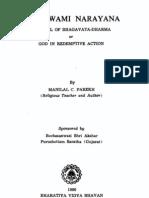 Shri Swaminarayan - Manilal Parekh