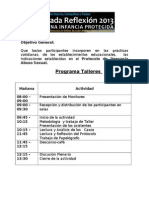 Programa Taller 2013