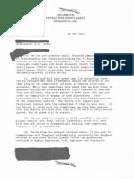 DCIA Benghazi Letter