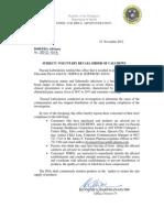DOH-FDA2012-013