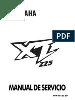 YAMAHA XT-225 en español