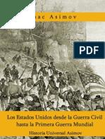 Historia de Los Estados Unidos Desde La Guerra Civil a La Primera Guerra Mundial