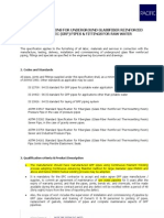 Tender Specification_Raw Water