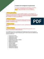 4 Clasificación de los modelos de investigación de operaciones
