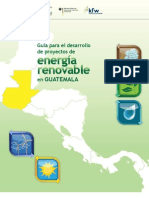 Guia Para El Desarrollo de Proyectos de Energia Renovable en Guatemala Copia