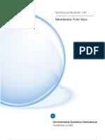 Technical Bulletin 142 - Membrane Pore Sizes