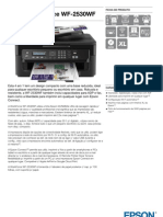 Epson WorkForce WF 2530WF Ficha de Produto