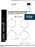 Modelo Computarizado de Hielo en Lineas de Transmision