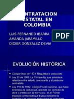 Contratacion Estatal en Colombia