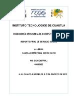 Proyecto Final Servicio Social DULCE