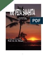 Rig Vedha - English