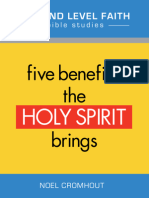 5 Benefits the Holy Spirit Brings