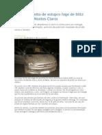 Pastor Suspeito de Estupro Foge de Blitz Da PRF Em Montes Claros