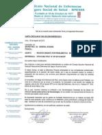 CARTA CIRCULAR N°020-SG CEN-SINESSS-2013