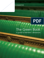 Green Book - Parliamentary Expenses Guide 2009