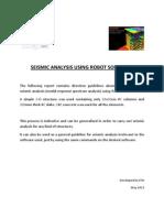 Seismic Analysis Using Robot Software