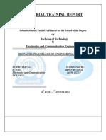 Industrial Training Report - Butola