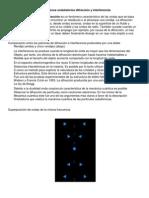 D Fenómenos ondulatorios difracción y interferencia