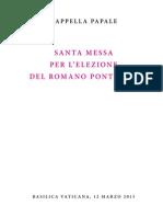 Missa Pro Eligendo Pontifice