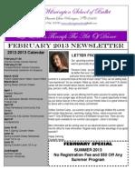february 2013