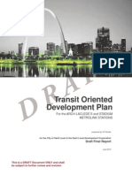 Draft Final TOD Plan for Arch Lacledes Landing and Stadium MetroLink Stations 7-31-13