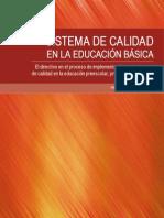 Sistema de Calidad en La Educacion