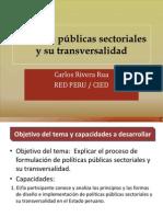 Politicas Publicas Sectoriales y Su Transversalidad