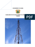 Communications Towers Guidelines