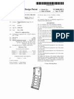US Patent No. D600303