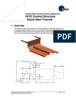 NX WAVE Control Structure Tutorial