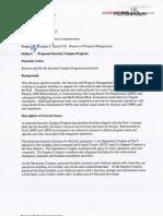 Port of Long Beach Securities Assessment