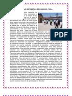 TRABAJO SISTEMATICO DE CONDICION FÍSICA