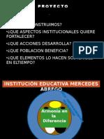 PROYECTO ALFAREROS DE LA SANA CONVIVENCIA
