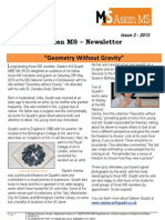 Asian MS Newsletter Issue 2, 2013
