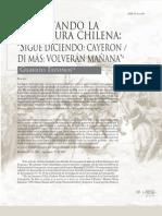Revisitando La Literatura Chilena