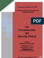 UPC 658 CARR 2009 195 Taf_competencias Del Gerente Global