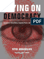 Table of Contents, Introduction and Chapter 1 of Spying on Democracy
