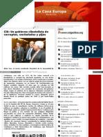 CiU Un Gobierno Clientelista de Corruptos, Enchufados y Pijos