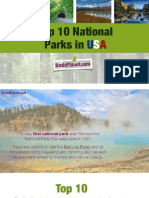 Top 10 National Parks in USA