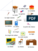 Vocabulario Colegio Frances