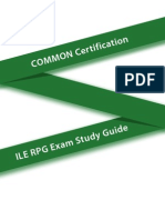 COMMON RPG Certification Parts 1 - 4