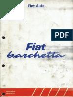 Fiat Barchetta Manuel de Reparation